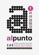 Imagen gráfica y cartel para las Jornadas de diseño. Escuela de arte Albacete