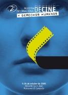 Cartel para la Muestra de cine y derechos humanos