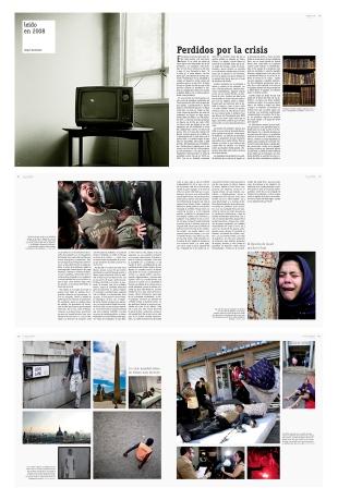 Páginas interiores del anuario de la prensa de Alicante