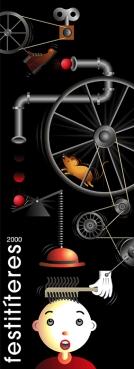festival internacional de títeres 2000. Publicado en el libro Growing graphics, editorial Index book.