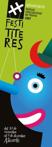 festival internacional de títeres 2007. Publicado en el libro Growing graphics, editorial Index book.