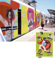 Premio LETRA 04. Premio nacional de comunicación y gráfica de entorno. Campaña para la prevención de consumo de alcohol. Ayuntamiento de Alicante y Generalitat Valenciana