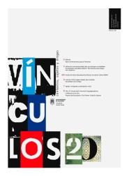 Diseño de portada del boletín VÍNCULOS