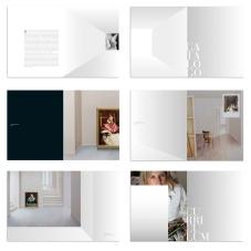 diseño del catálogo de la exposición. Diputación de Alicante