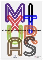 Cartel para exposición de trabajos de alumnos. Escuela de arte Albacete