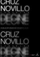 cartel para exposición de Pepe Cruz Novillo en Escuela de arte Albacete